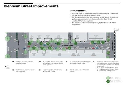 Blenheim Street concept design