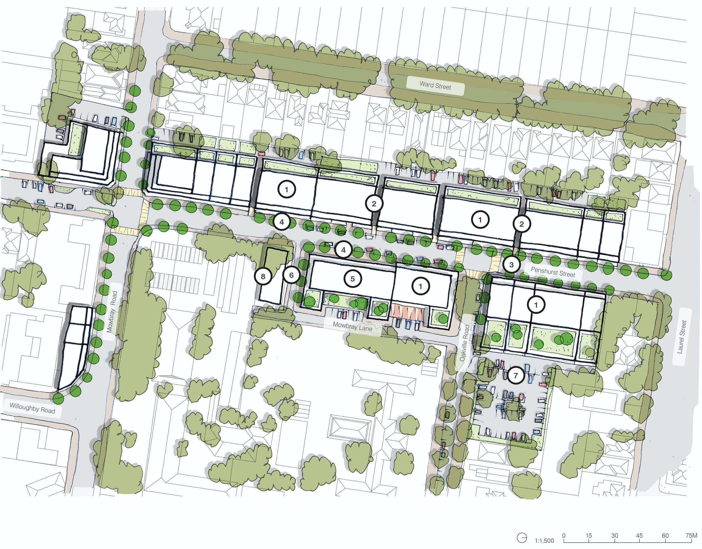Indicative Penshurst Street Master Plan