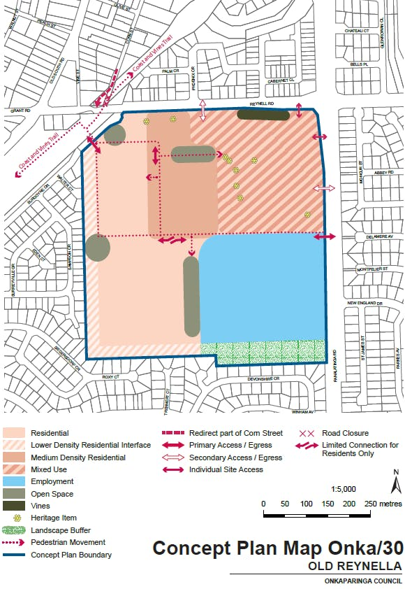 Concept Plan Map