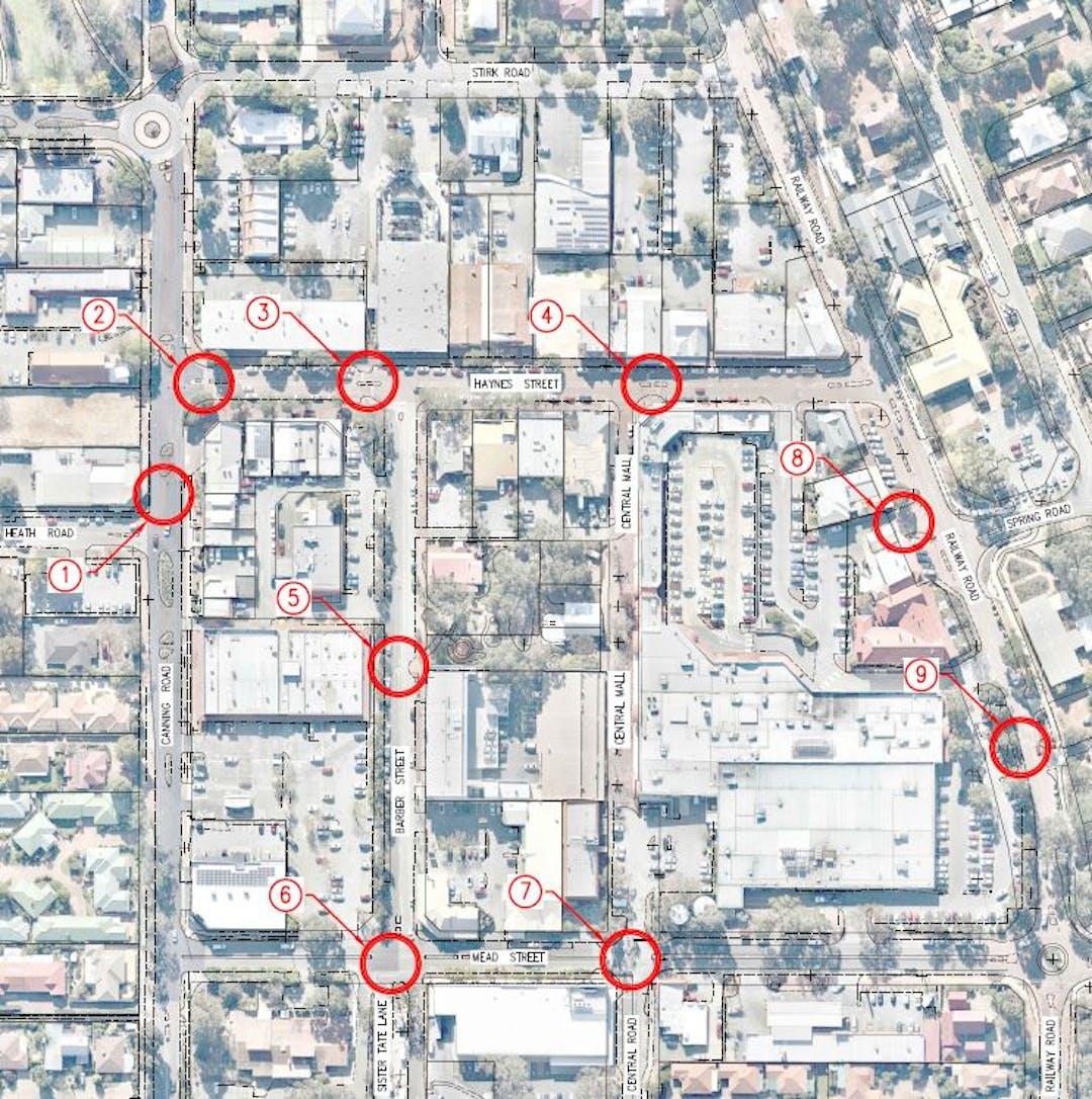 Kalamunda Town Centre Pedestrian Improvements