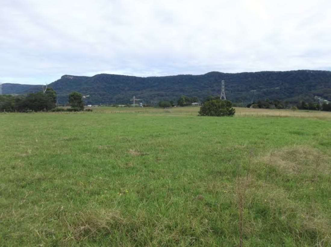 View Of Site Looking South West