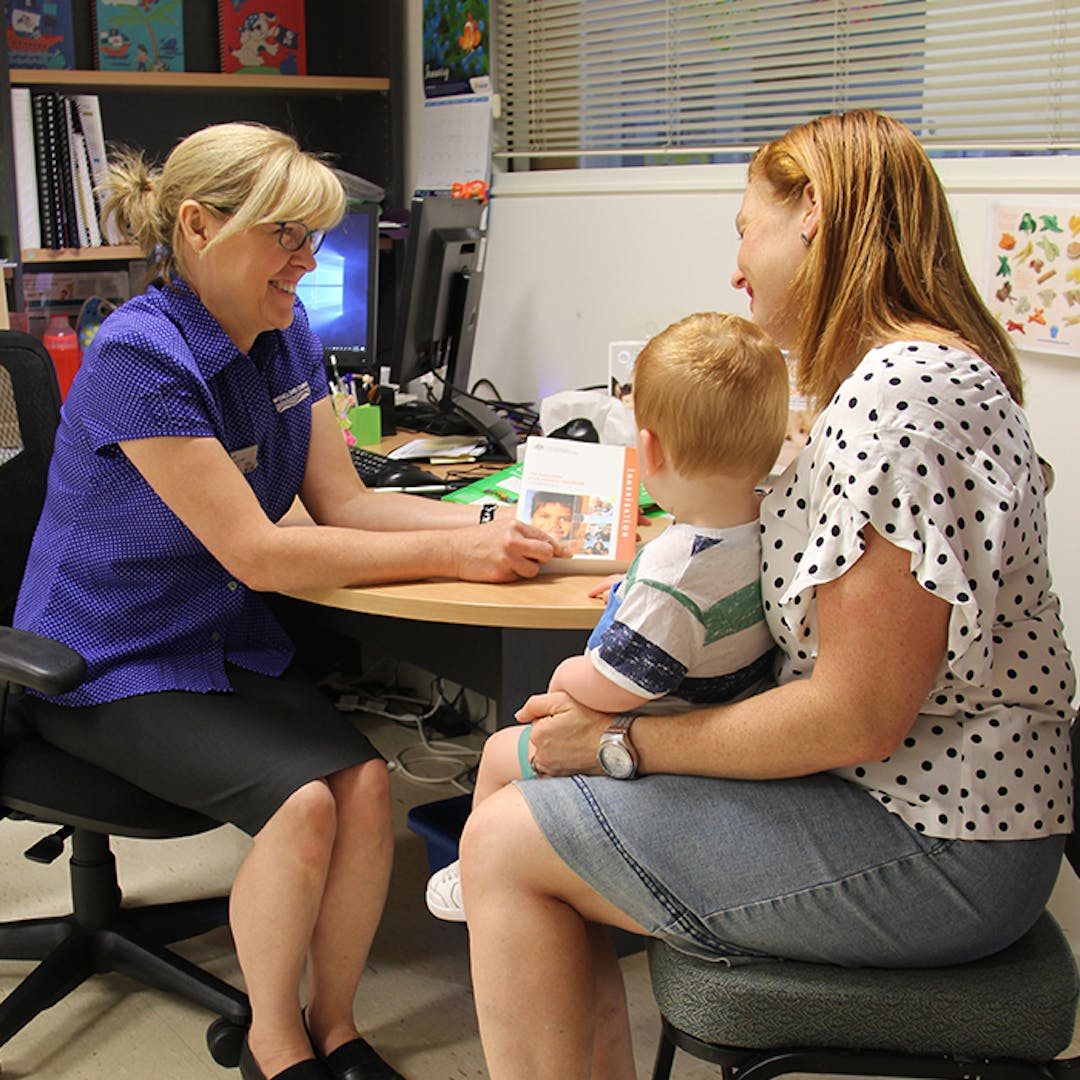 We would appreciate your thoughts on your local immunisation service.