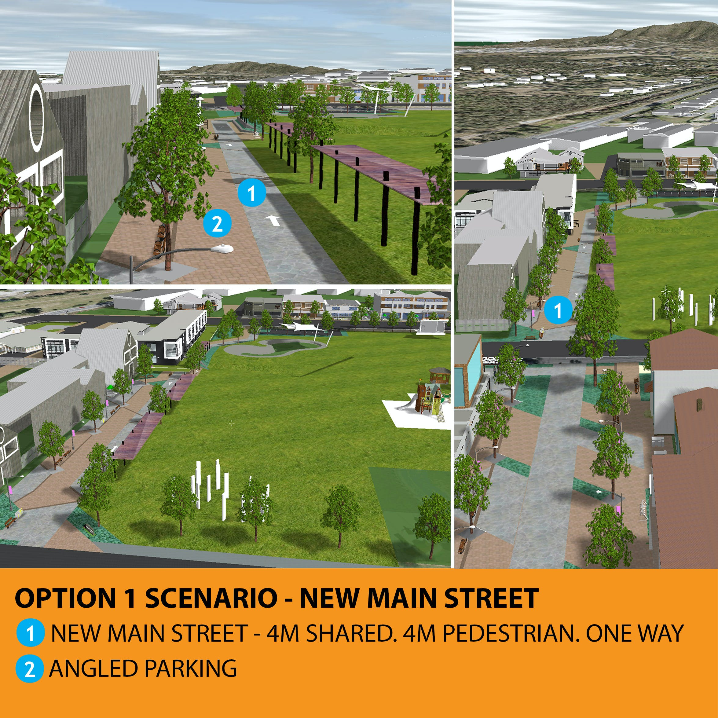 Logan Village Option 1 Scenario