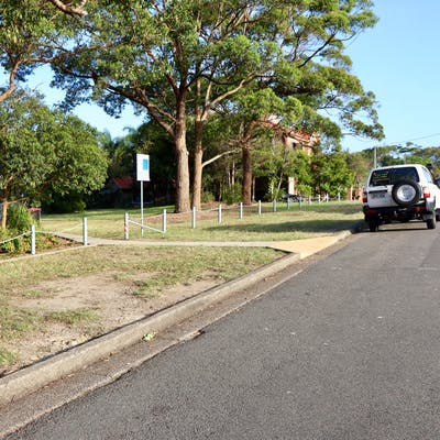 Proposed new stop site in front of Reay Park