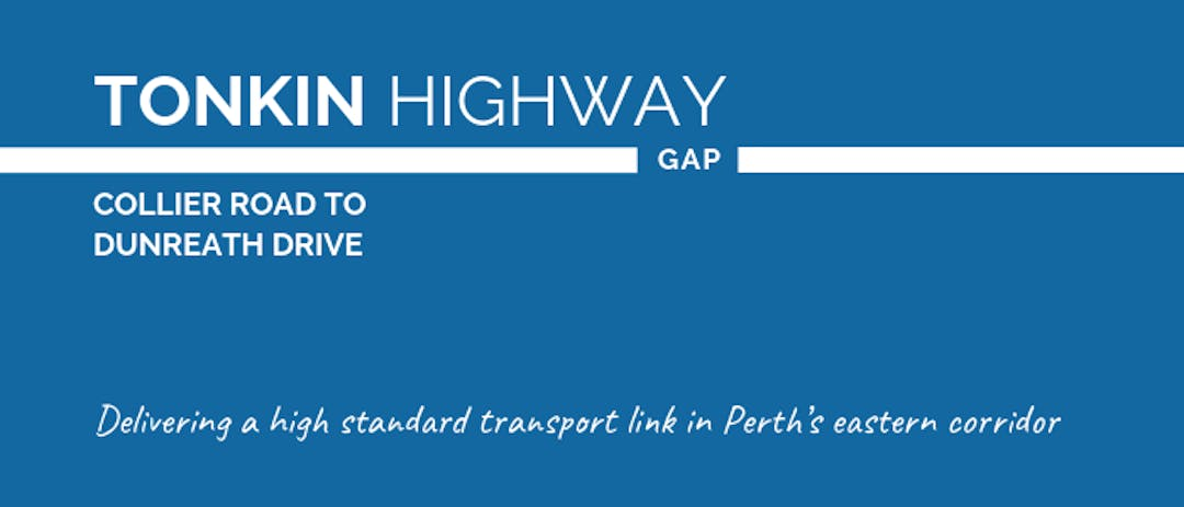 Tonkin Highway between Collier Road and Great Eastern Highway