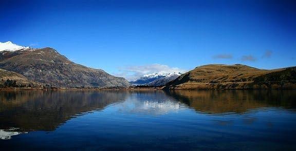 Lake Hayes in summer
