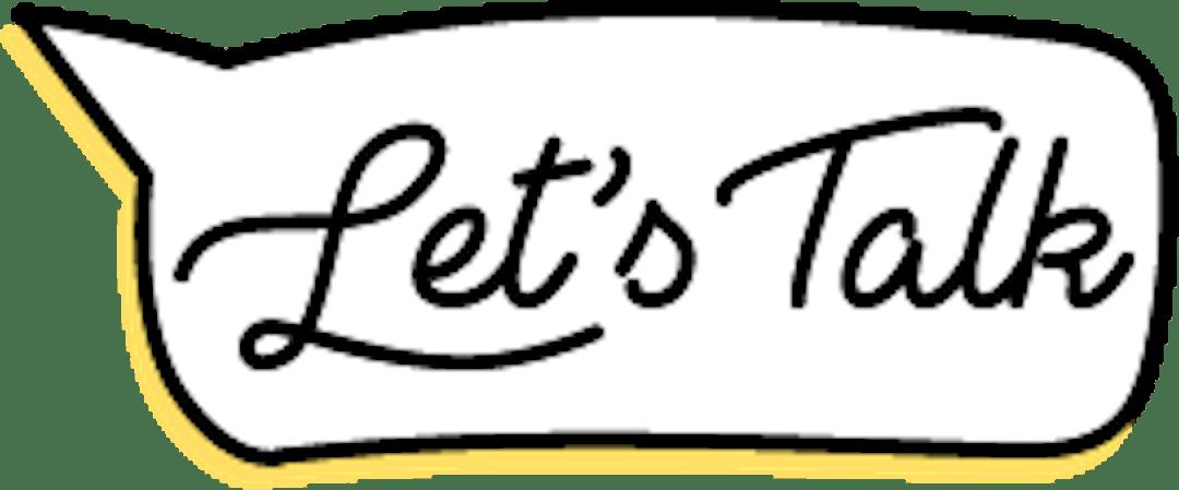 Let's Talk Campaign Logo
