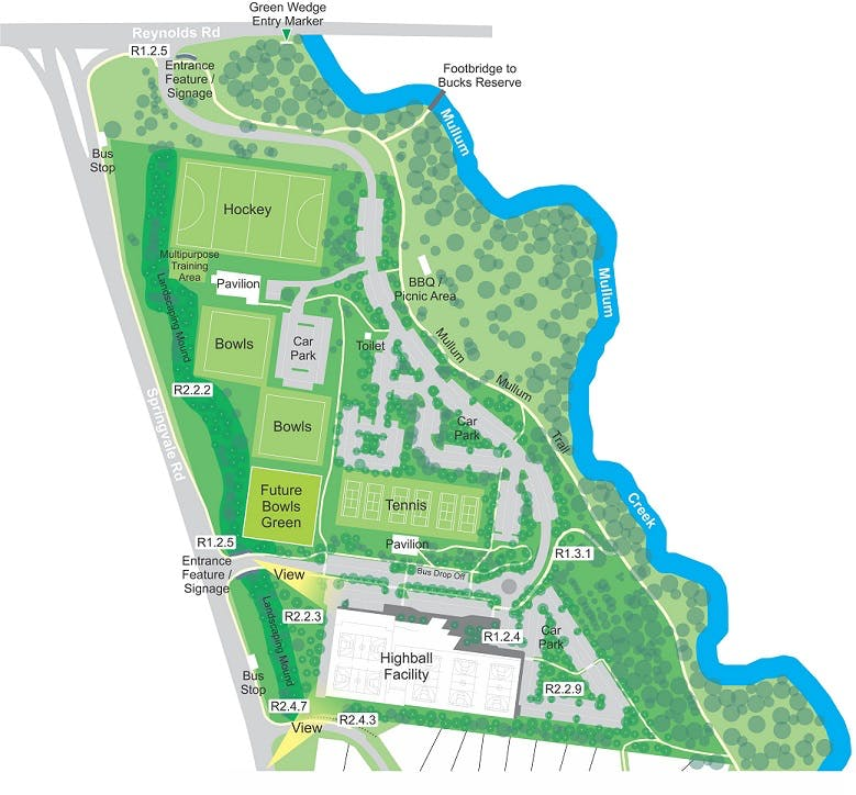 Mullum Mullum Reserve Master Plan
