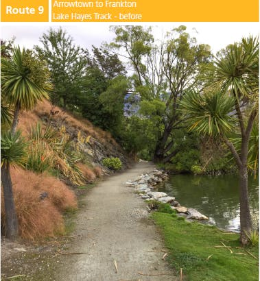Route 9: Arrowtown to Frankton (Lake Hayes Track) - BEFORE OPTION 1