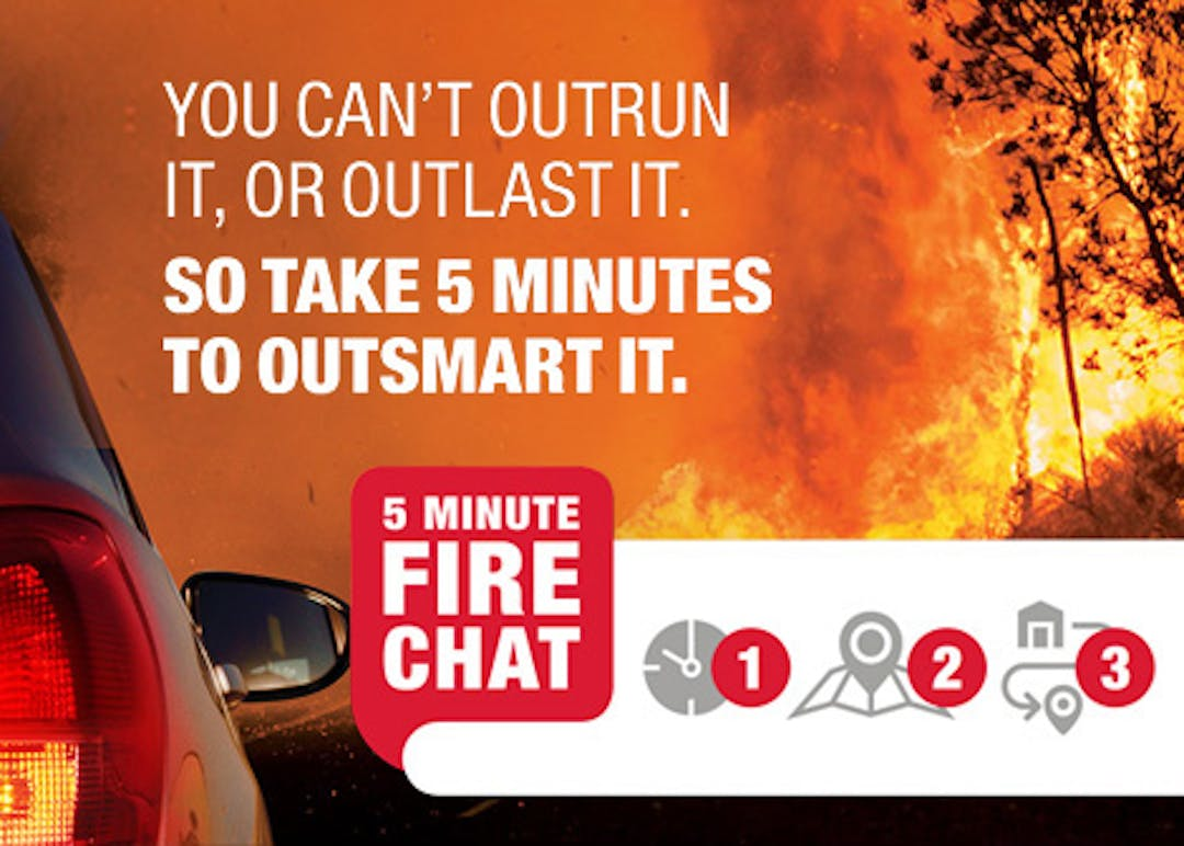 Five Minute Fire Chat