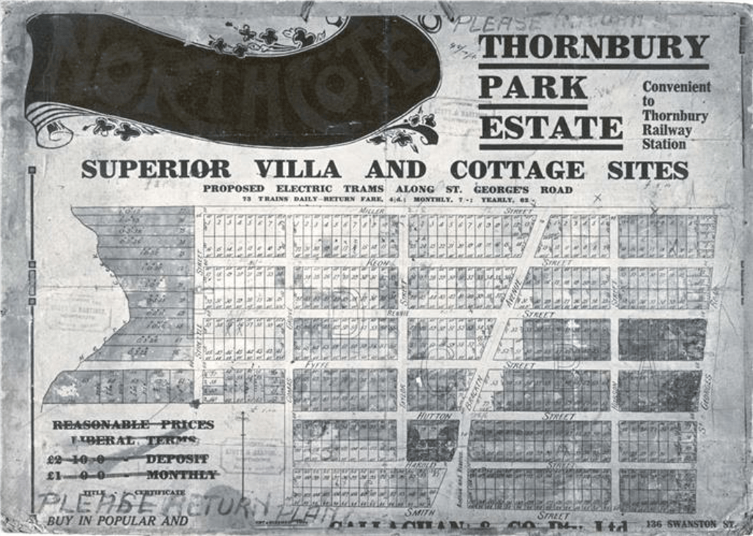 Thornbury newspaper image