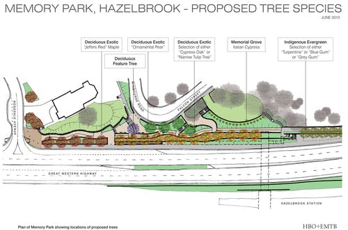 Memory Park Tree Brochure 2
