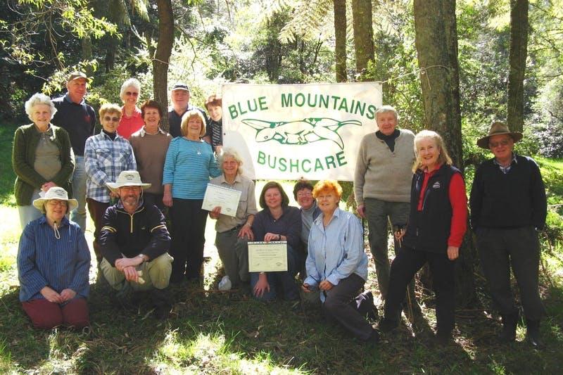 Bushcare Mt Wilson 10yrs Sept09