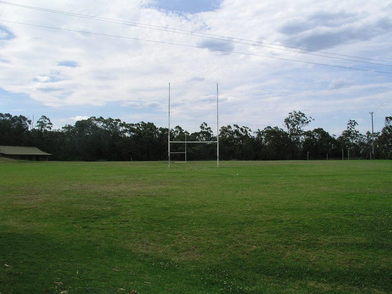 Lapstone Oval. Rugby and popular recreation venue