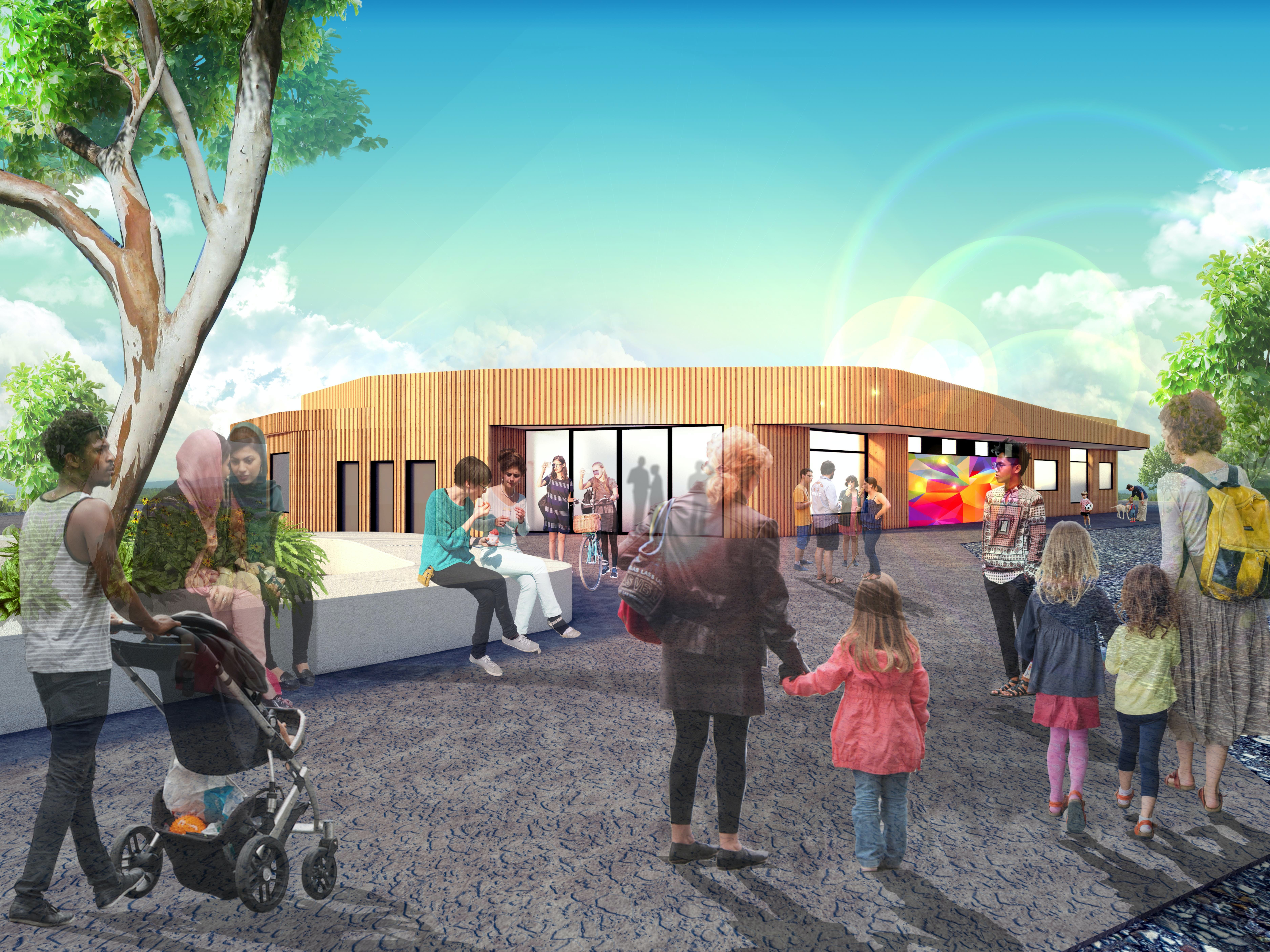 Concept Design Autumn Place Community Hub, Doveton