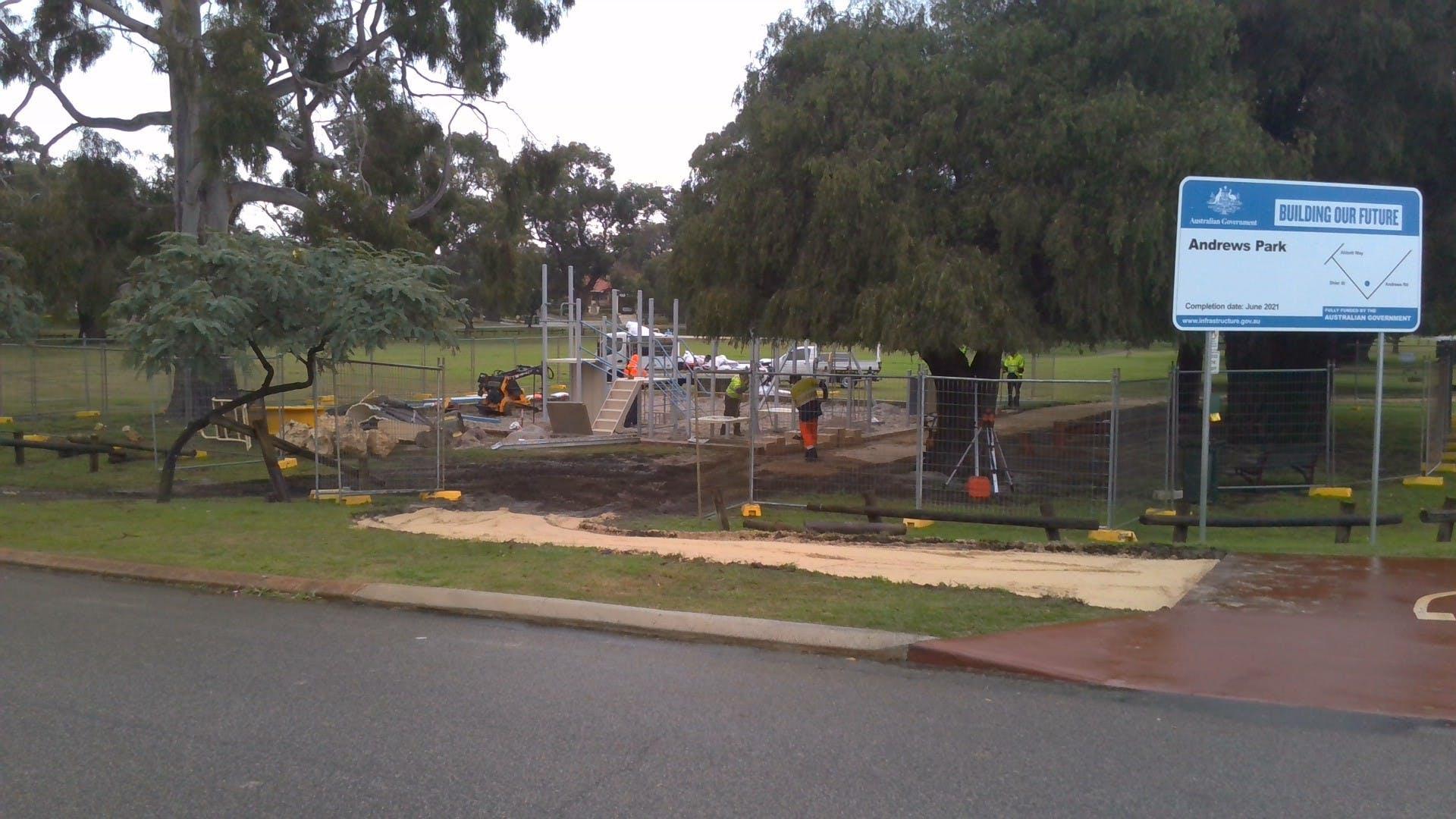 Andrews Park Progress 4