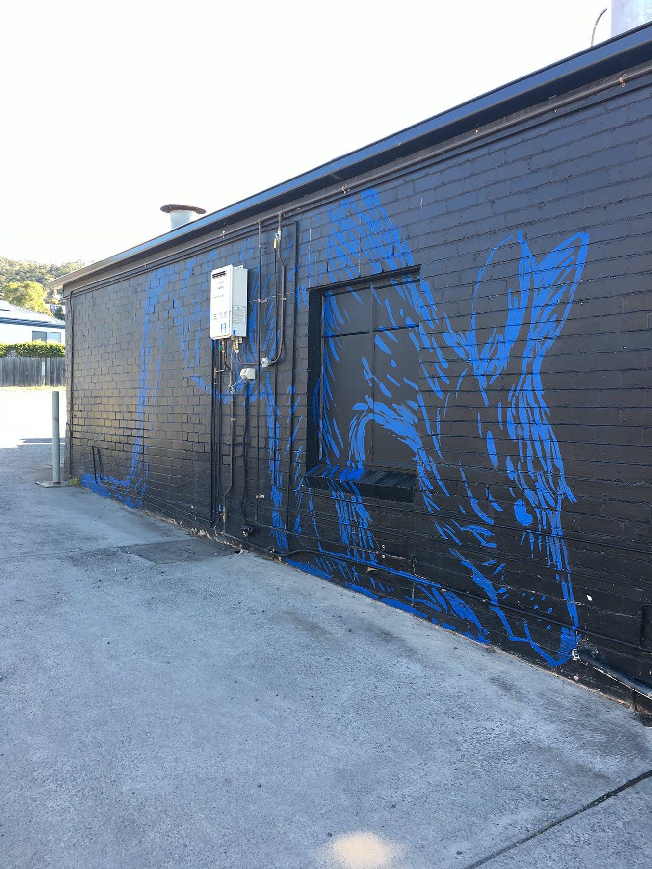 First Mural - Kangaroo