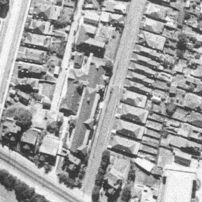 1943 Aerial photo