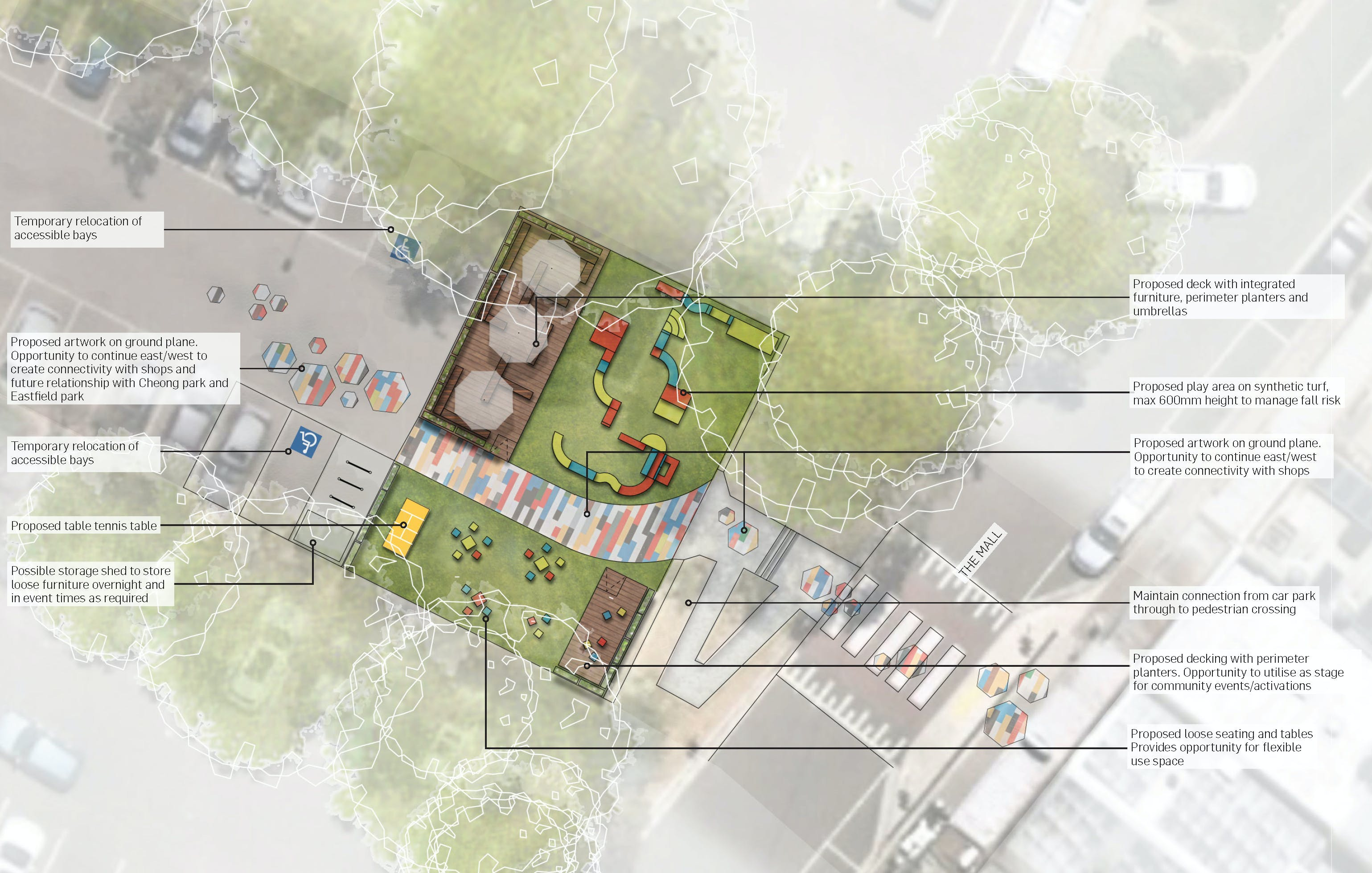 Croydon South - Pop-Up Park