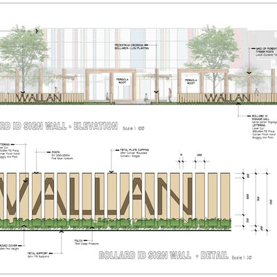 Wallan Plaza Artist Impression