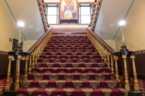 Hobart Town Hall - Entry Staircase