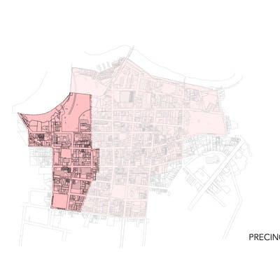 Building Heights Precinct A