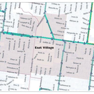 East Village Map