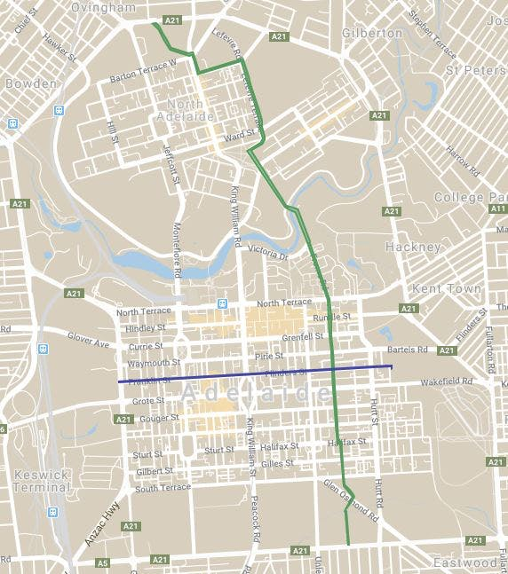 City Bikeways Map