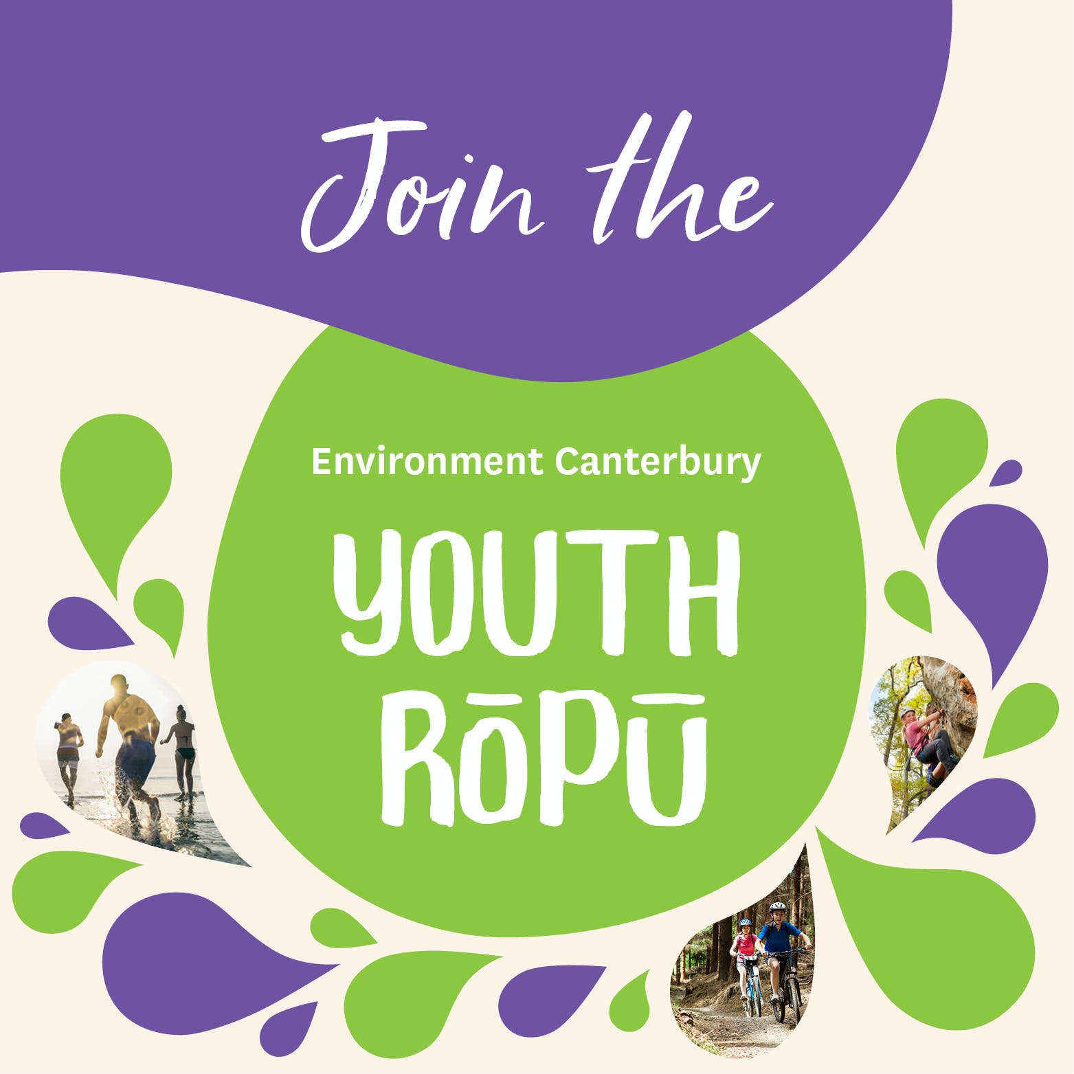 Join the Environment Canterbury Youth Rōpū