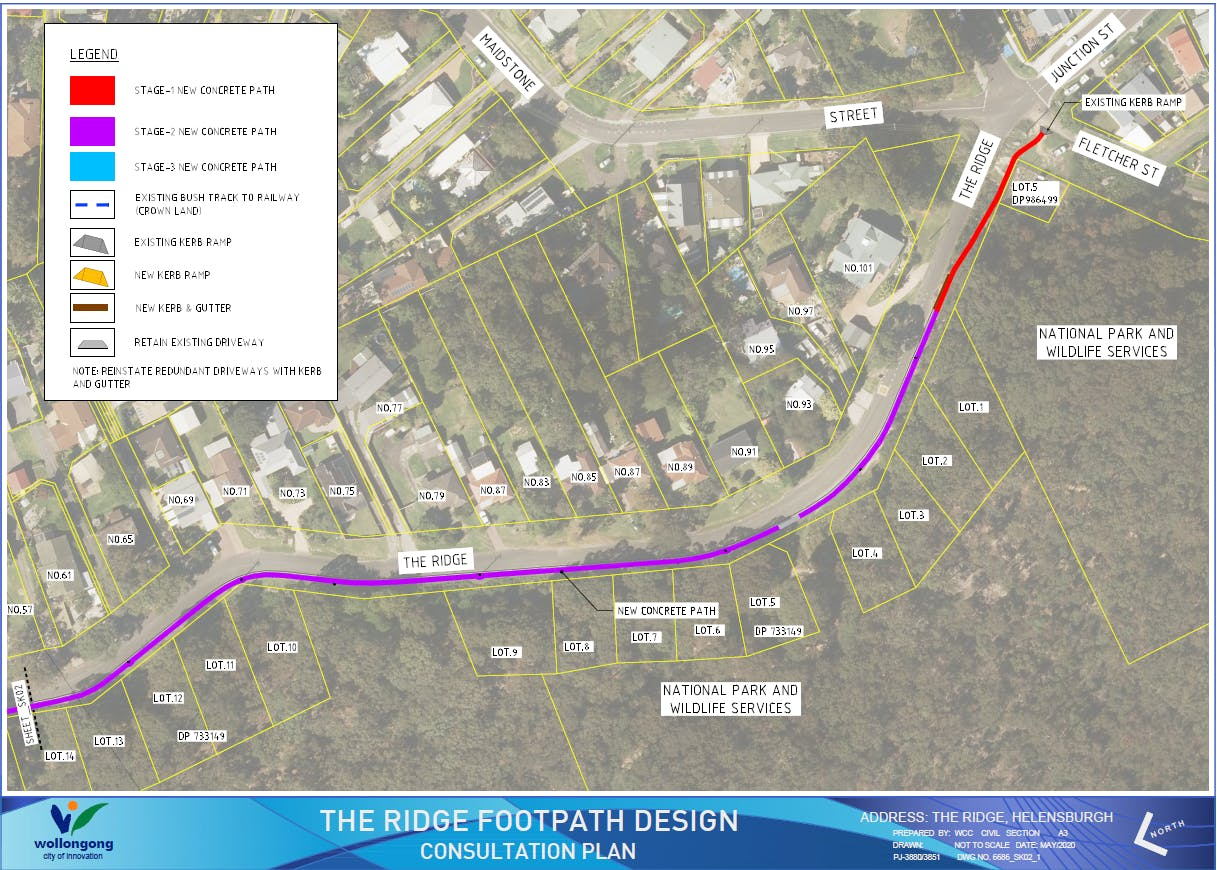The Ridge Helensburgh  - Consultation Plan Stage 1 & 2