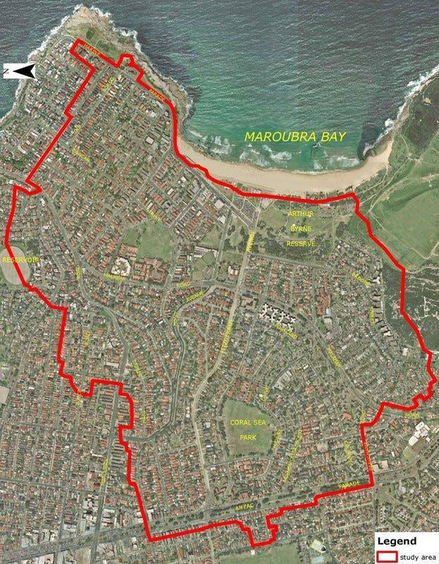 Flood Study Map