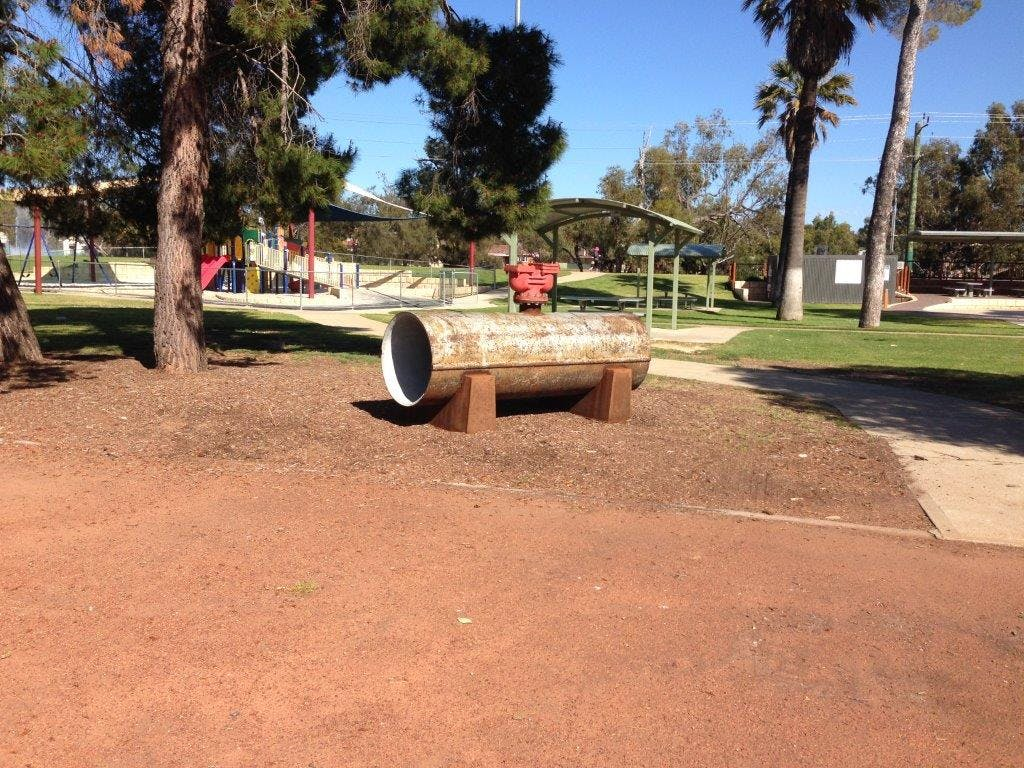 Pipe in the park