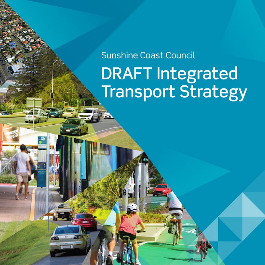 draft integrated transport strategy banner