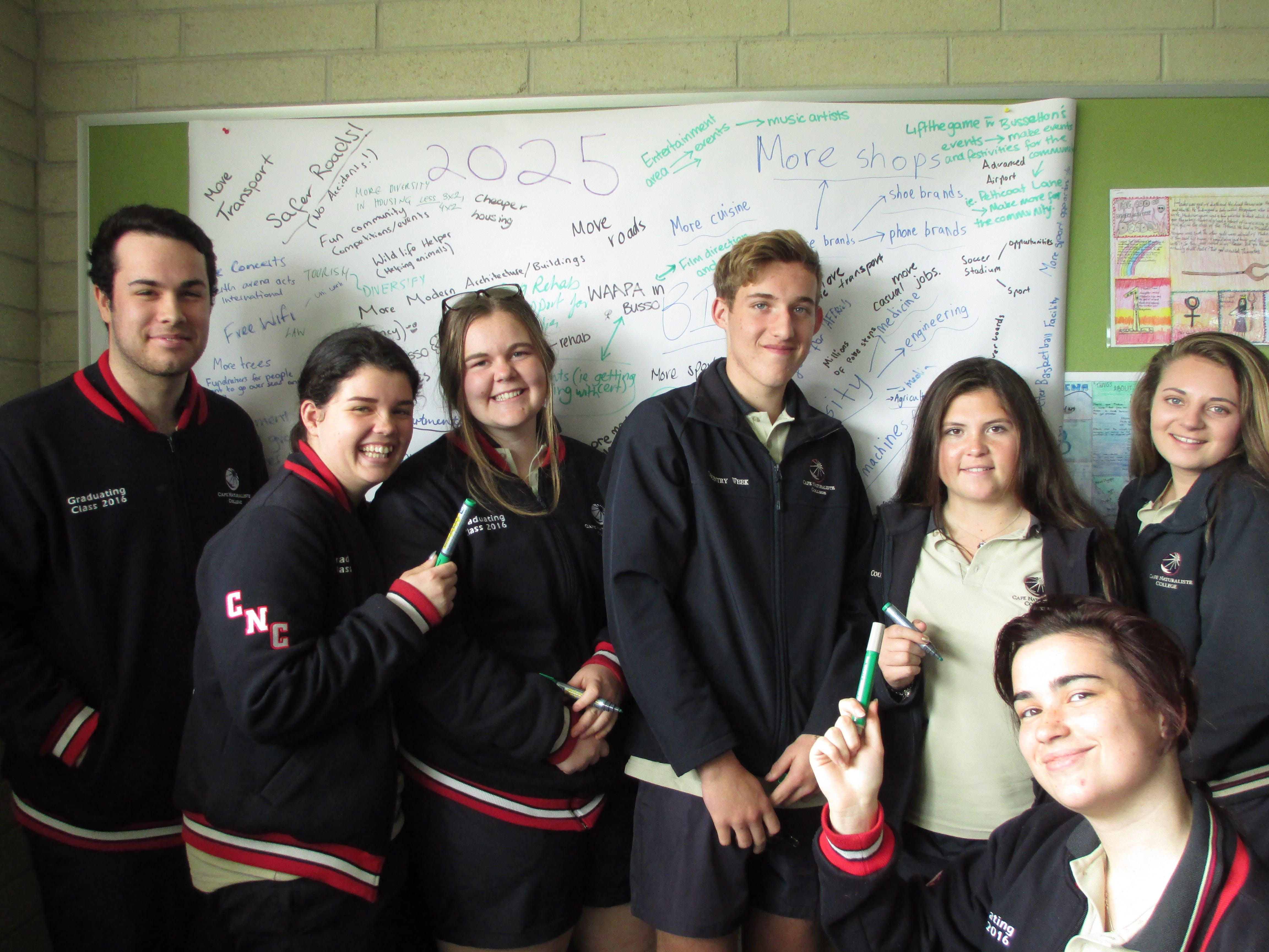 St Mary Mackillop College workshop