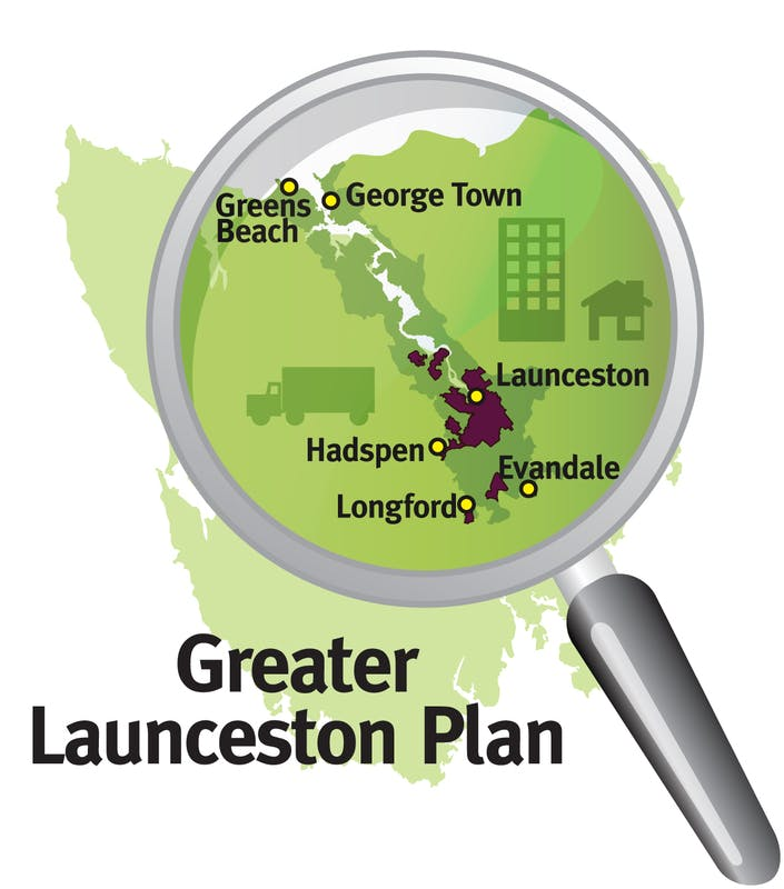 Graphic - Greater Launceston Plan