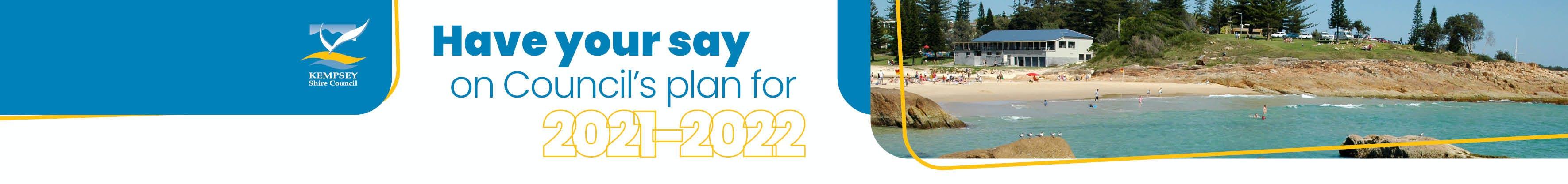Council's 2021-2022 Plans