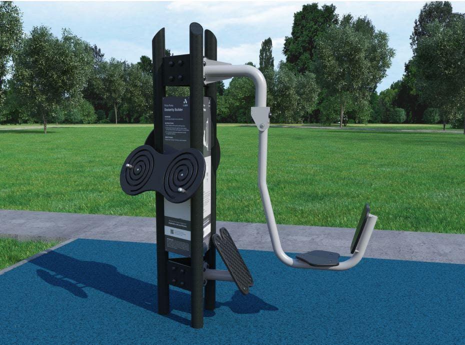 Allan Hill Park - Exercise Equipment