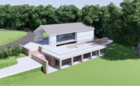 Concept Design 1 - Aerial view