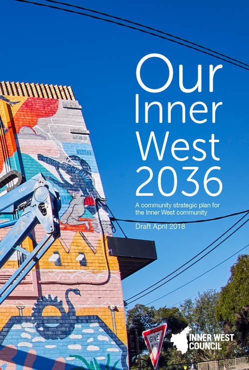 Draft Our Inner West 2036 (CSP) - cover
