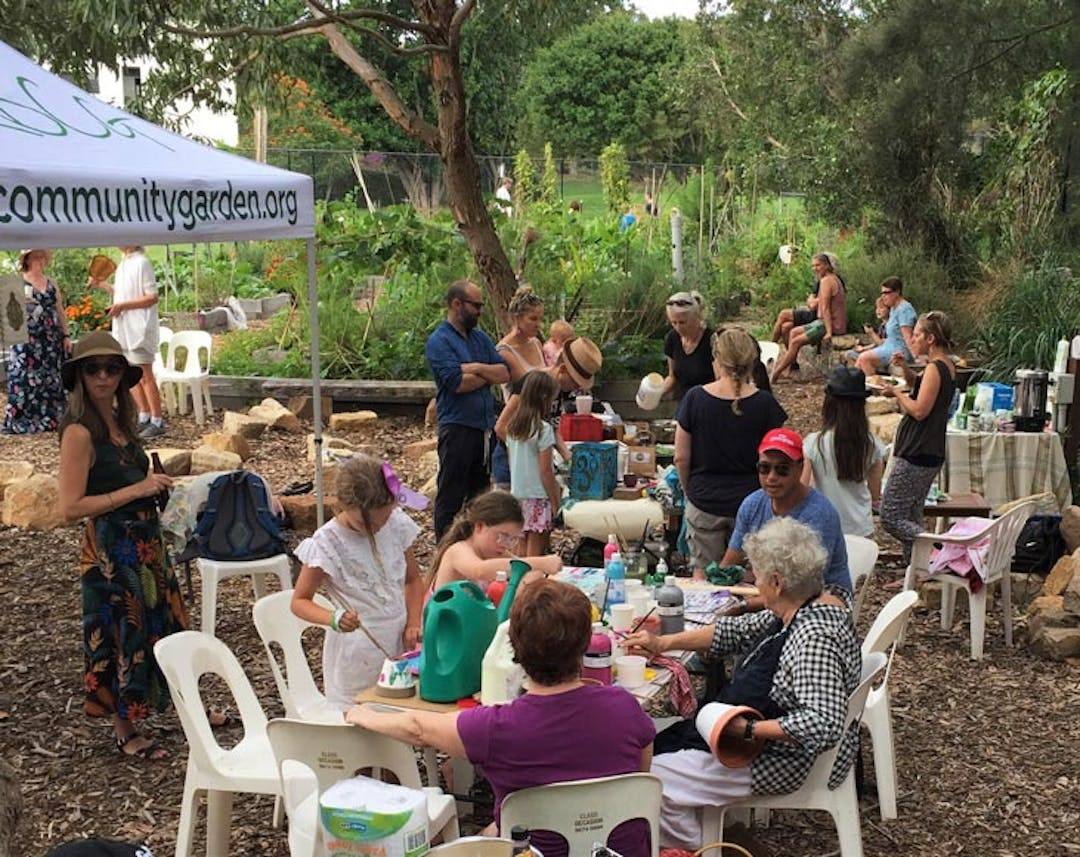 Rose bay community garden 2018 gathering