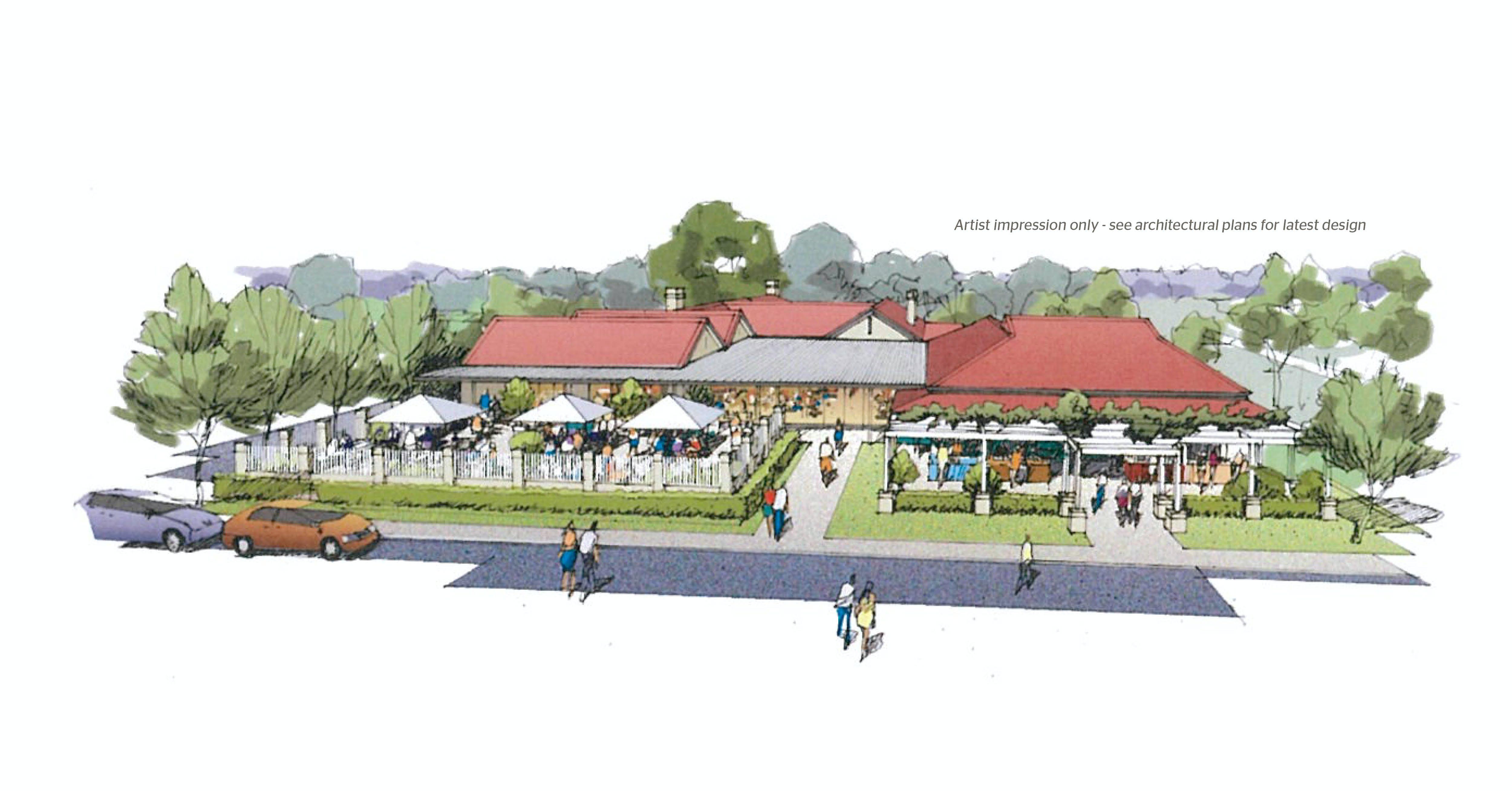 Alfresco Area Concept Design