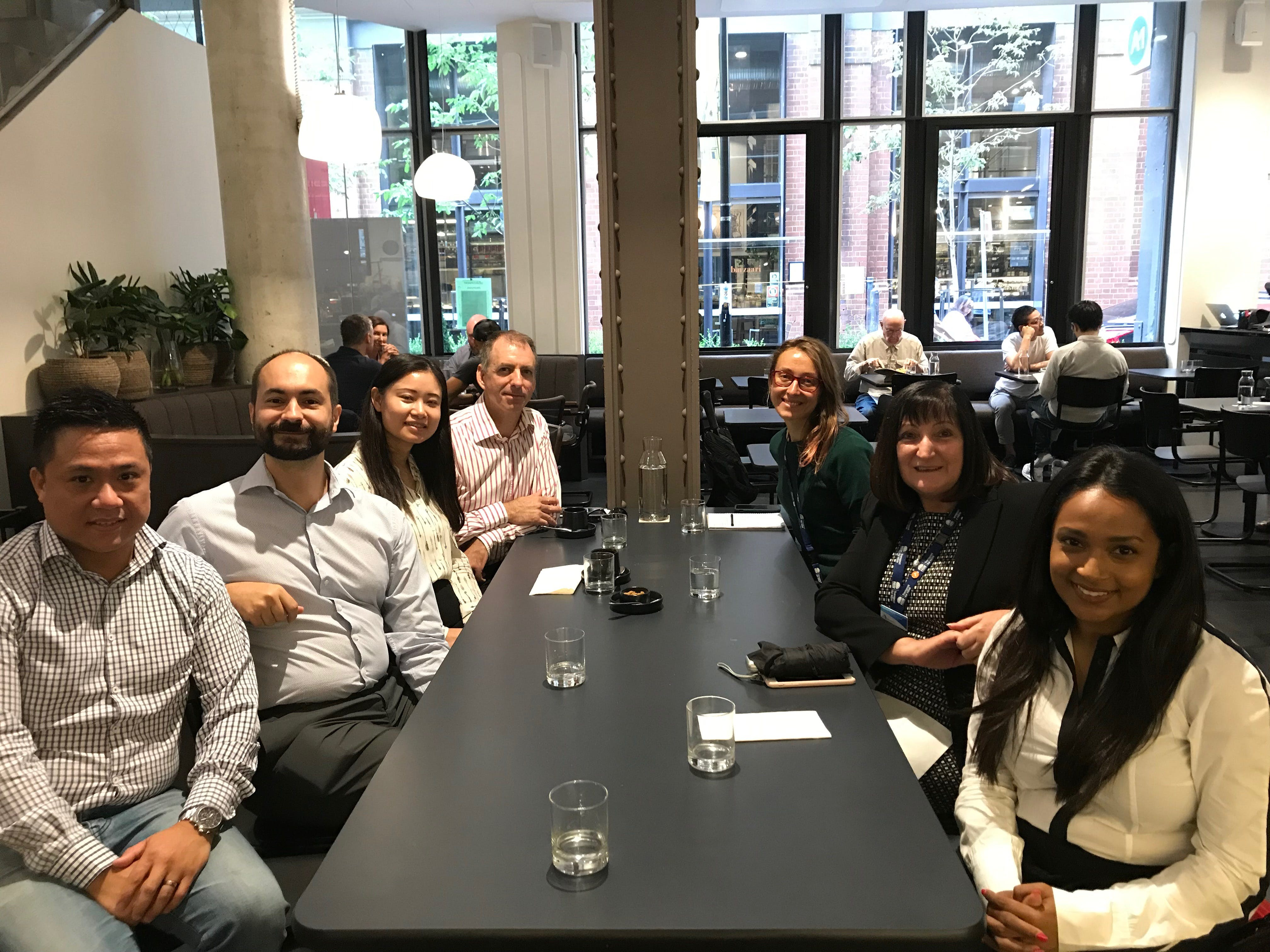 Breakfast with the Dep Sec initiative held for Corporate Services employees from Lee St and Pitt St offices
