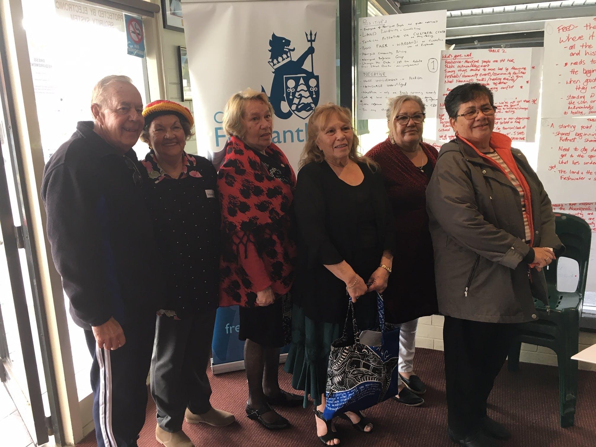 Elders at Community Meeting