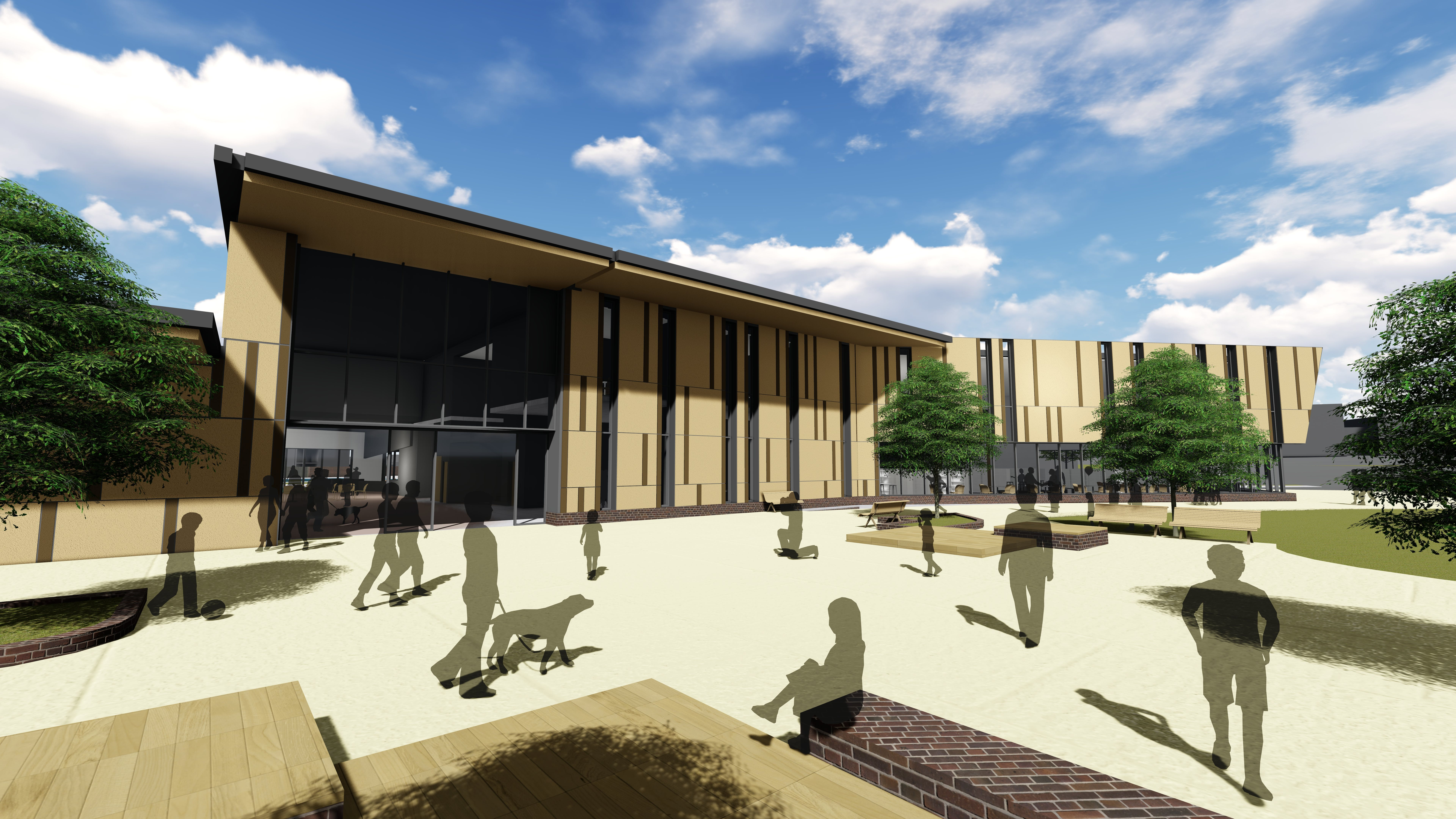 Granville Multipurpose Centre Artist Impression