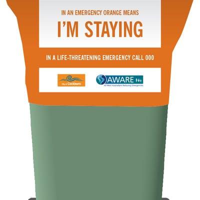 Stay Or Go Image   Orange Bin