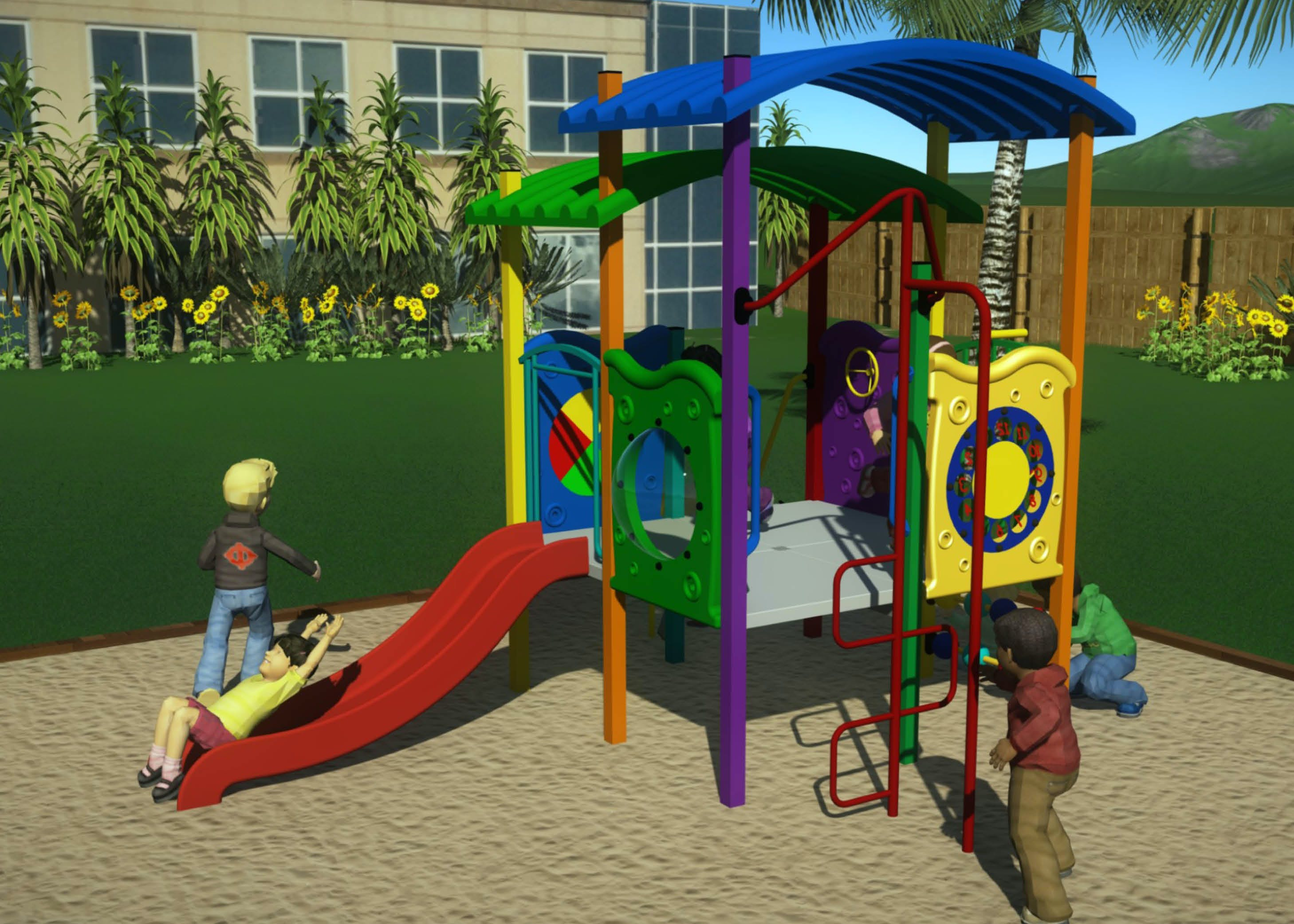 Play equipment that will let you explore