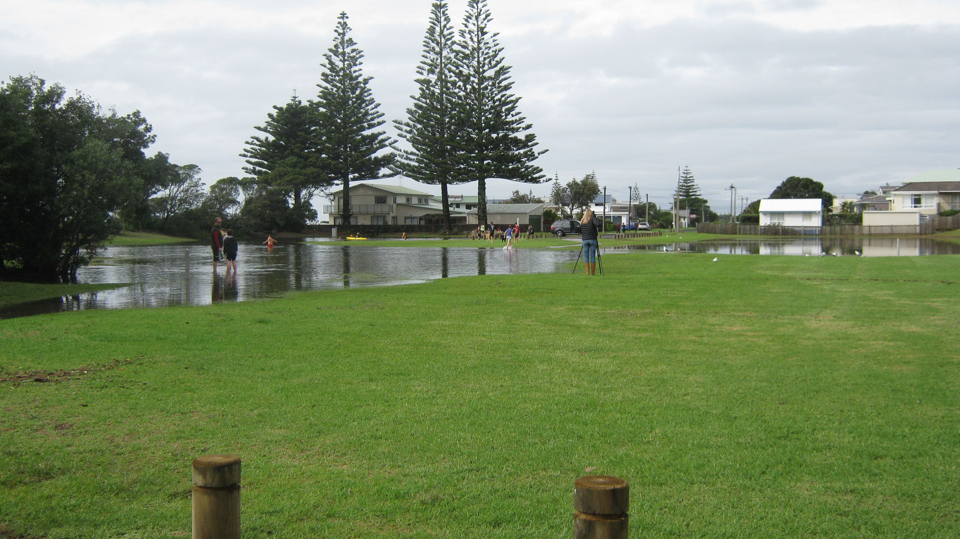 Flooding In Park