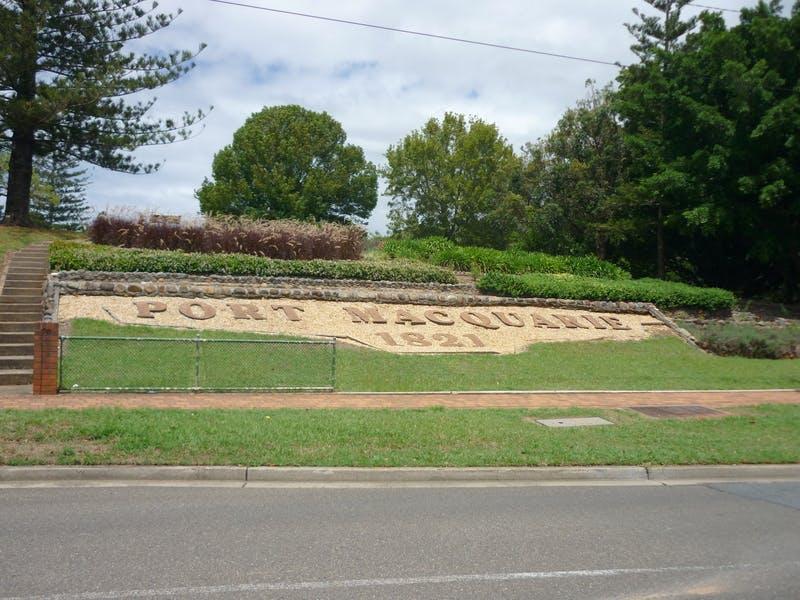 Port Macquarie Historic Cemetery sign