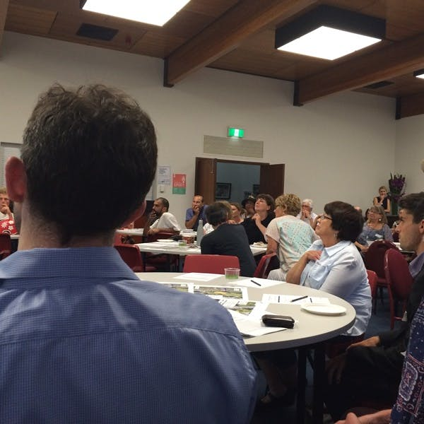 Community workshop November 2015