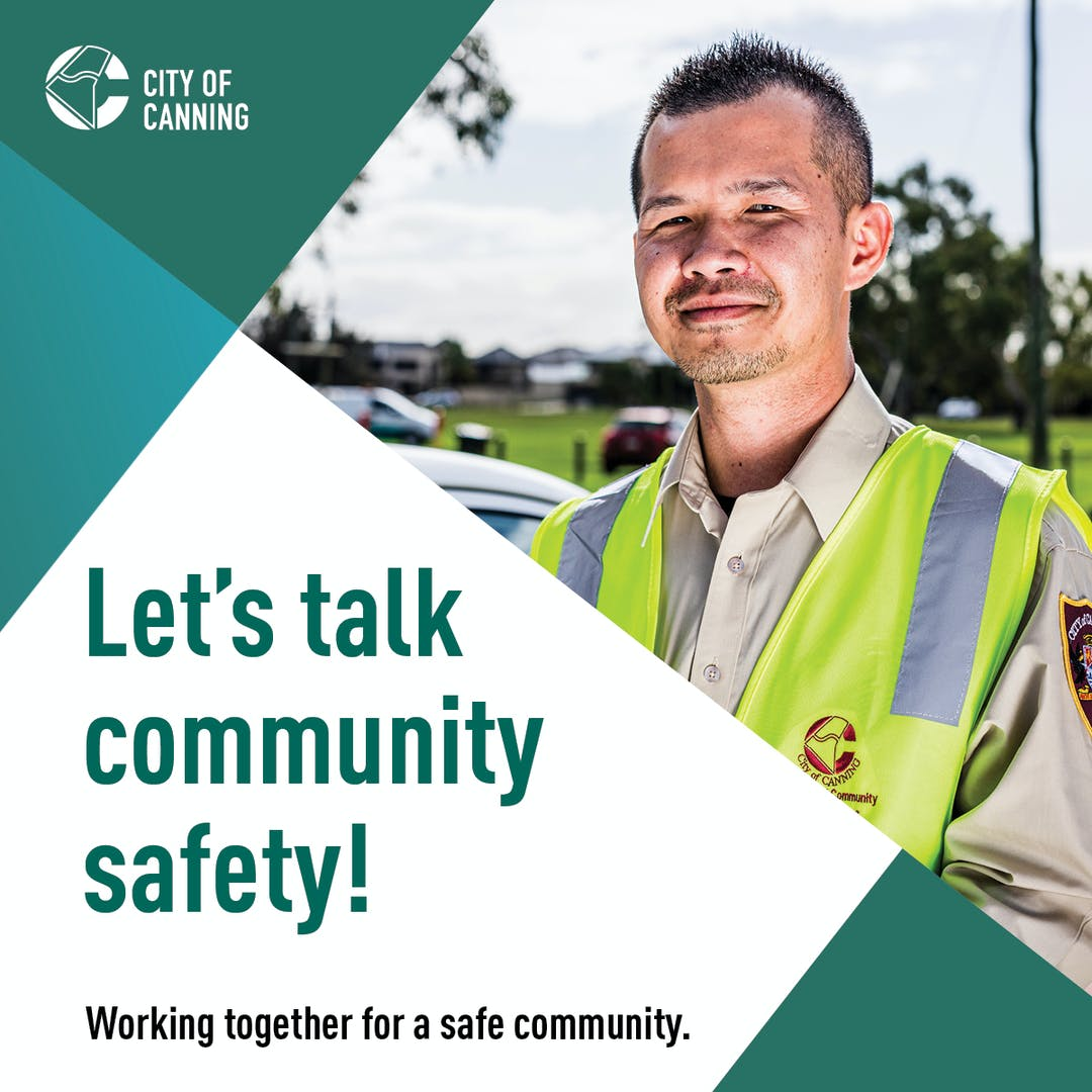October is Community Safety Month and this year it's all about hearing from you. Our 2020 Community Safety Survey is now open and we would like your feedback. To go into the draw to win a $100 VISA gift card, complete our survey before 31 October 2020.